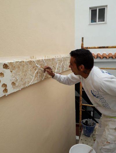 antonio pintando
